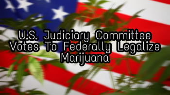 U.S. Congress Committee Votes To Federally Legalize Cannabis