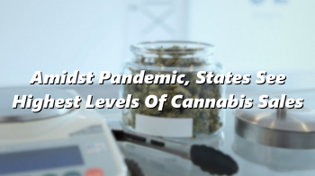 Amidst Pandemic, States See Highest Levels Of Cannabis Sales