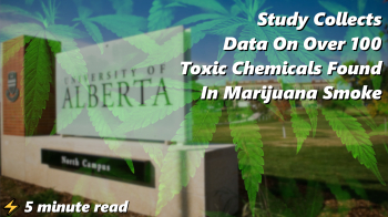 Study Collects Data On Over 100 Toxic Chemicals Found In Marijuana Smoke