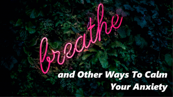 If You're Reading This, Take A Deep Breath (& Other Ways To Calm Your Anxiety)
