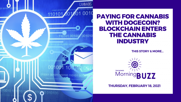 Paying for Cannabis with Dogecoin? Blockchain Enters the Cannabis Industry | Morning Buzz