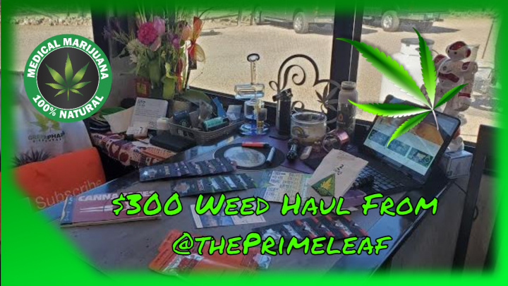 Free My Cure $300 Weed Haul From @Primeleaf