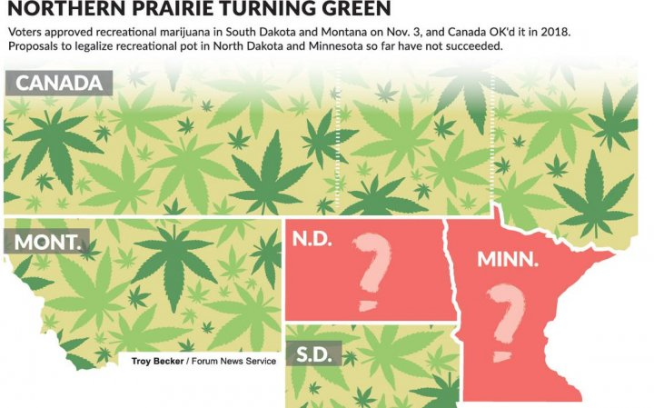 North Dakota Lawmakers Advance an Adult Use Bill Out of House Committee