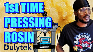 1st Time Pressing Rosin?!?