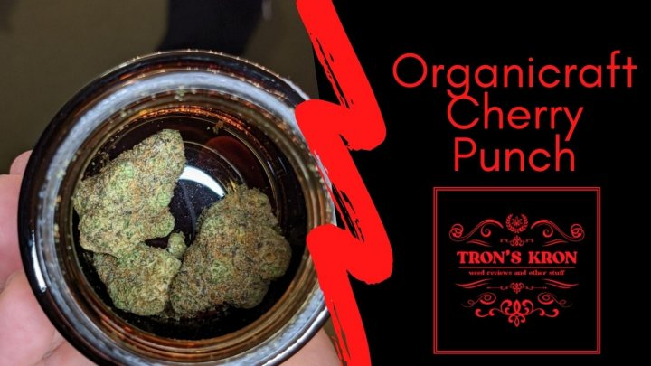 Organicraft Cherry Punch Legal Cannabis Review
