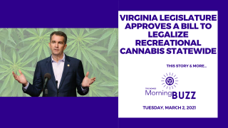 Virginia Legislature Approves Bill to Legalize Recreational Cannabis | TRICHOMES Morning Buzz