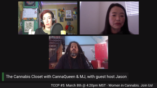 The Cannabis Closet Potcast with CannaQueen & MJ: Pinner #2; or is it a Blunt