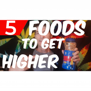 FIVE FOODS THAT WILL INCREASE YOUR HIGH