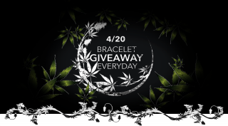 CONTEST- WeedBeads Bracelet Giveaway EVERYDAY until 4/20 (celebrating Weed Day)
