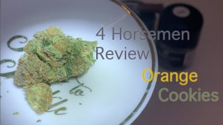 NJ Medical Dispensary Strain Review: Orange Cookies (Garden State Dispensary, Union NJ)