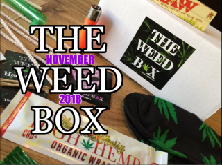 The Weed Box November 2018 Unboxing