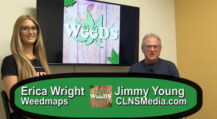 Weedmaps Erica Wright on In The Weeds with Jimmy Young- List
