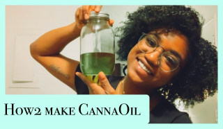 How to make CannaOil w/ Coconut Oil + A Mini Sesh