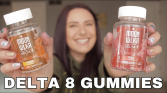 Trying DELTA 8 MOONWLKR Gummies & Carts! *Activation Time*Effects*FAQ*What Is Delta8*
