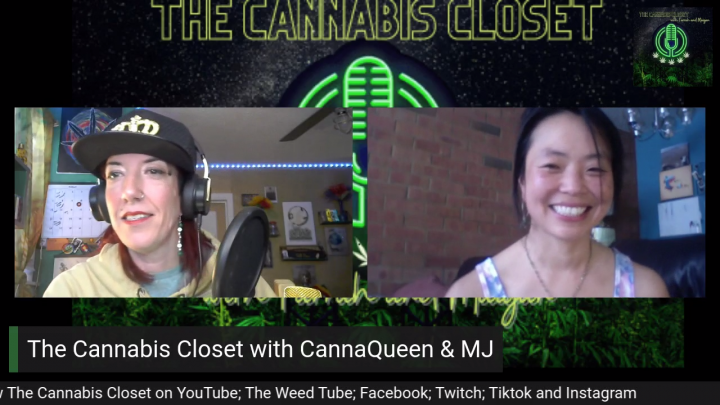 The Cannabis Closet Potcast with CannaQueen & MJ: Pinner #3: Women in Cannabis Letters