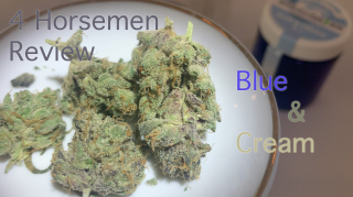 NJ Medical Dispensary Strain Review: Blue & Cream (Breakwater ATC, Cranbury, NJ)