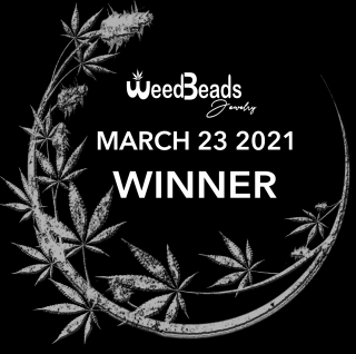 ANNOUNCEMENT- WeedBeads Giveaway WINNER March 23 2021