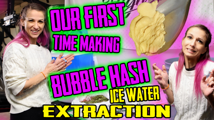 Bubble Hash Ice Water Extraction! Our First Run!