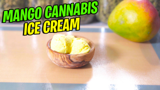 Mango Cannabis Ice Cream Recipe
