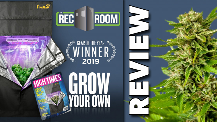 RecRoom Complete Grow Room Review (Best Cannabis Grow Kits Online)