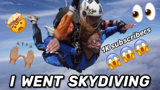 I Went SkyDiving | 1k Subscribers
