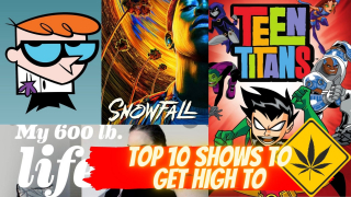 TOP 10 SHOWS TO GET STONED TOO!!!