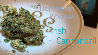 NJ Medical Dispensary Strain Review: Irish Cannonball (Harmony Dispensary, Secaucus NJ)