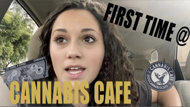 First Time at The Cannabis Cafe || Lysssmokes