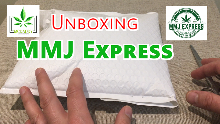 Unboxing! - My Package From MMJ Express - Mail Order Marijuana
