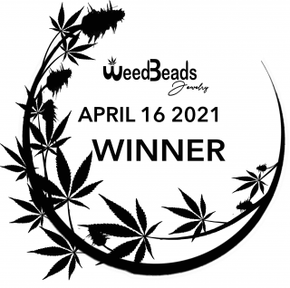 ANNOUNCEMENT- WeedBeads Giveaway WINNER April 16 2021