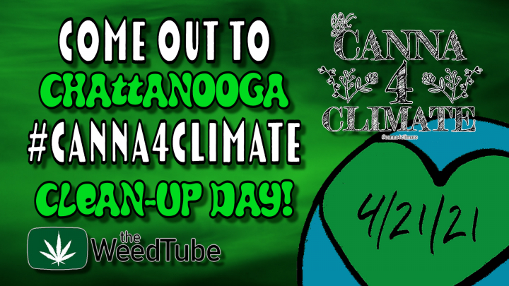 #Canna4Climate Chattanooga Clean-Up Event Announcement! - MPM Vlog #1