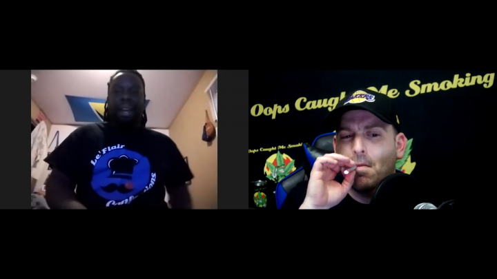 Oops Caught Me Smoking with Infusion King Kook Le'Flair