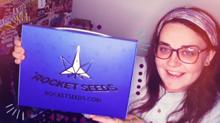 ROCKET SEEDS UNBOXING ON EDIBLES