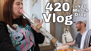 IT'S 4/20!! A vlog, 420 merch drop, starting my growing journey, canna4climate plans, and more...