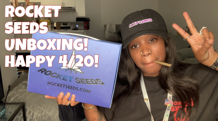 ROCKETSEEDS UNBOXING FOR 4/20