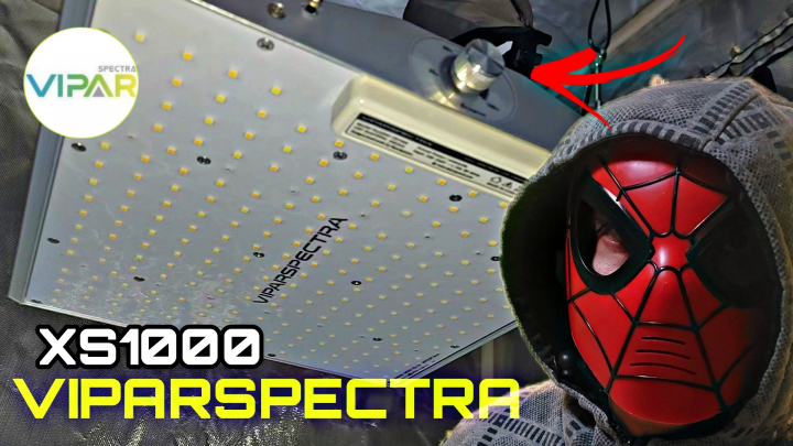 VIPARSPECTRA XS1000 LED GROW LIGTH UNBOXING