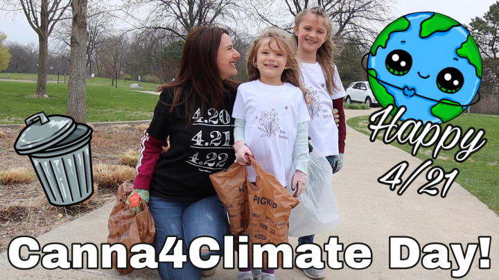 IT'S 4/21! Canna4Climate Day Vlog! (pssssst....the new stoner holiday!)