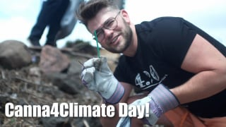 Cleaning Up Denver for Canna4Climate Day!