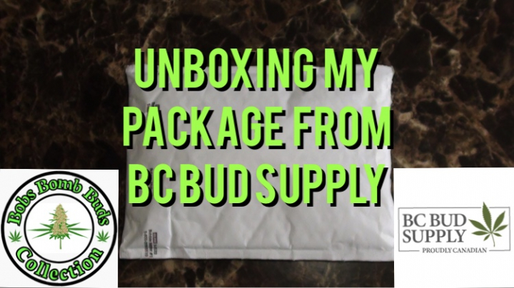 Unboxing My Package From BC Bud Supply