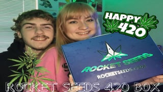 Rocket Seeds Unboxing: happy 420!