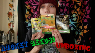 Rocket Seeds Unboxing?? Let's grow