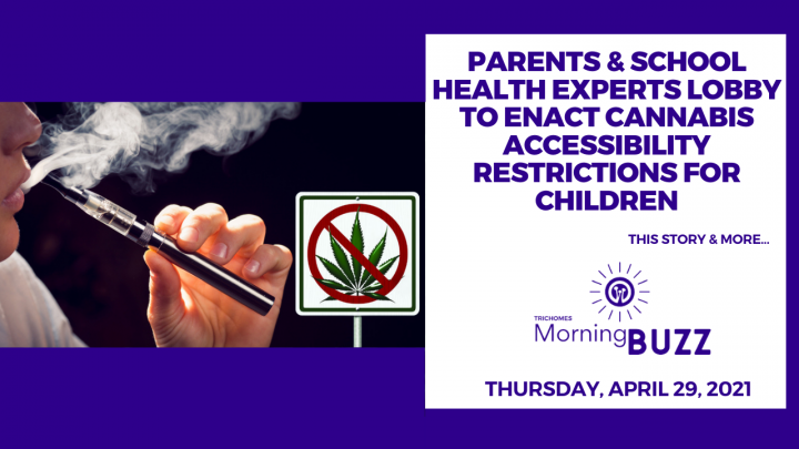 Parents & School Health Experts Lobby to Enact Cannabis Accessibility Restrictions for Children