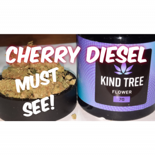 CHERRY DIESEL (KIND TREE) okay weed but why so peppery?