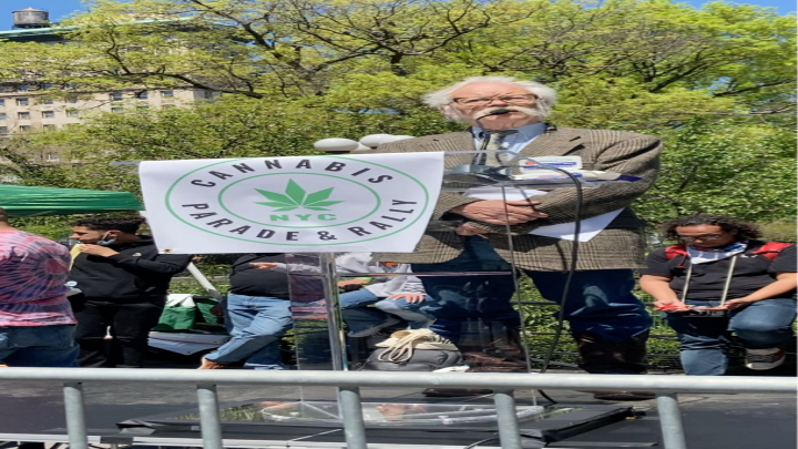 Dana Beal speaks NYC Cannabis Parade 2021!