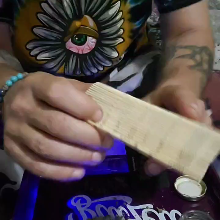 how I use the raw bamboo rolling mat