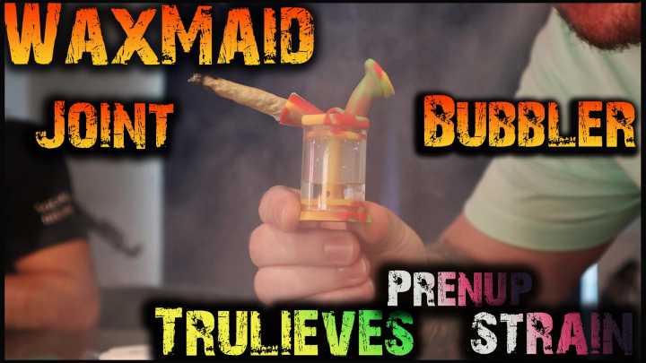 WaxMaid Joint Bubbler Review || Trying Trulieve's PreNup Strain!