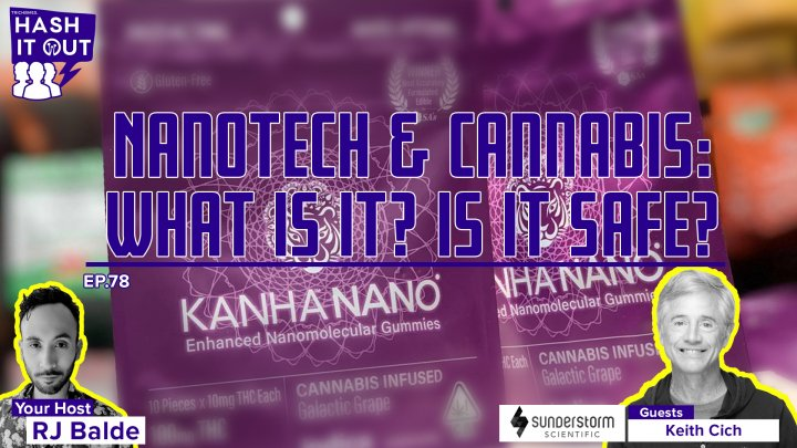 Nanotech & Cannabis: What Is It? Is It Safe? - HiO Interview with Keith Cich of Sunderstorm