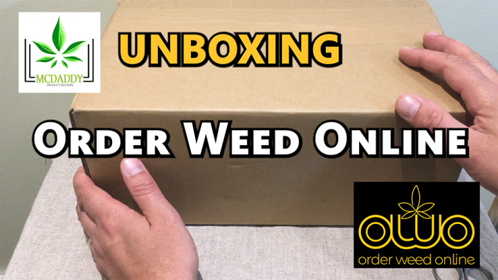 Unboxing! - My Package From ORDER WEED ONLINE - Mail Order Marijuana