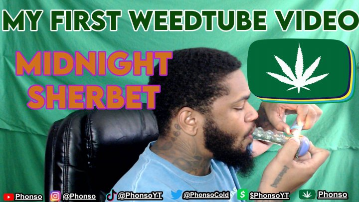 My First Video on TheWeedTube Smoking Midnight Sherbet! Who Am I? The Content To Expect From My WeedTube Channel! Subscribe Please!