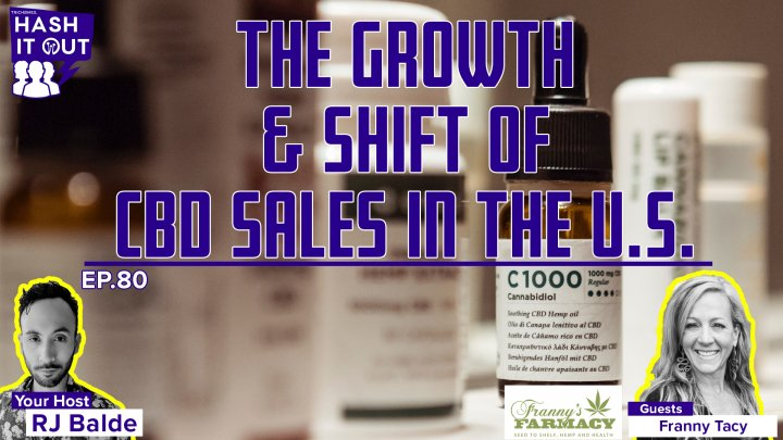 The Growth & Shift of CBD Sales in The U.S. - HiO Interview: Franny Tacy of Franny's Farmacy